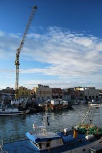 """""""panorama del porto vecchio…..un po' inusuale"""""""
