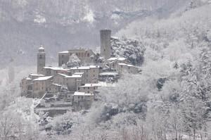 Nevicata a Bagnone