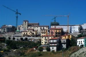 lavori in corso post terremoto