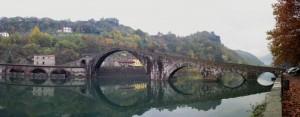 Ponte della Maddalena a novembre