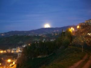 Al sorgere della luna