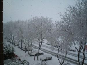 Neve a Foggia