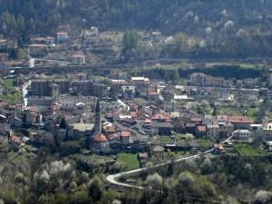 panorama di Chiomonte, Val di Susa