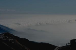 Nuvole sulla pianura