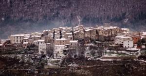 Inverno a Castelvecchio Calvisio