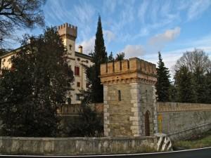 Saciletto di Ruda, il castello
