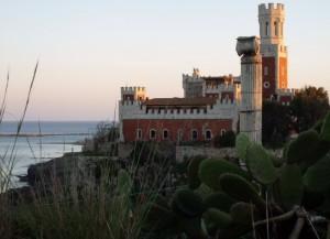 Il maestosissimo castello Tafuri