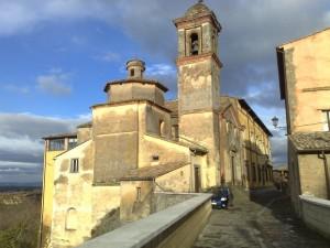 La frazione di San Michele in Teverina.