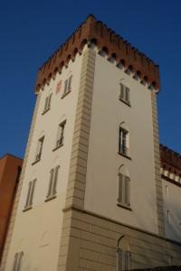 La torre del castello Monteruzzo