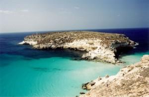 Nel blu…..di Lampedusa