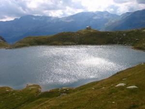 Dal Lago d'Emet prima di giungere al Rifugio Bertacchi