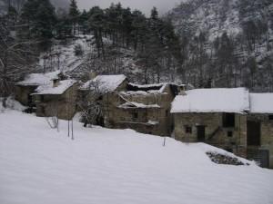 neve sull'abbandono