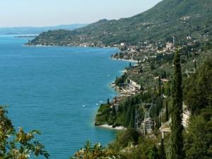 Lago di Garda - sponda occ. - Panorama su Toscolano-Maderno