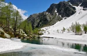 Si scioglie il lago d'Arpy