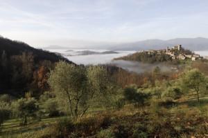 Veduta del borgo di Castiglione del Terziere