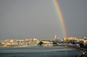 Per la mia Dolceo', un arcobaleno sul nostro futuro…