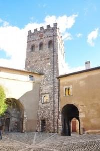 la torre fortificata oggi ingresso del museo agricolo