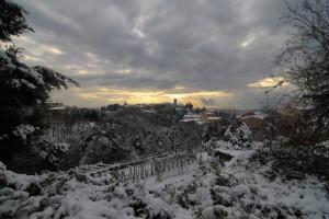 Che nevicata…