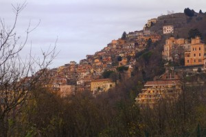 Rocca di Papa…quasi tramonto