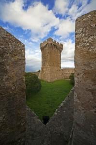 Populonia, la torre del mastio n° 2