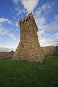 Populonia, la torre del mastio n° 3