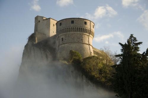 San Leo - Castello e nubi
