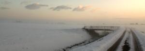 neve in pianura