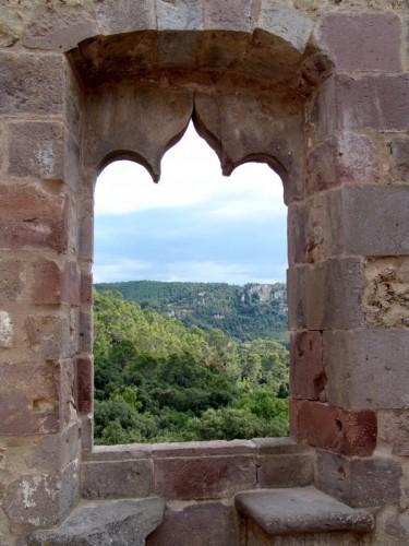 Laconi - La finestra del castello