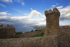 Populonia, la torre del mastio n° 5
