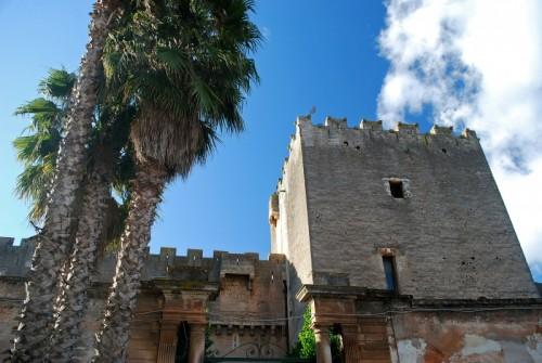 San Vito dei Normanni - la torre quadrata del castello di San Vito dei Normanni