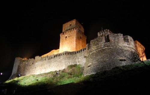 Assisi - Maschio sulle mura