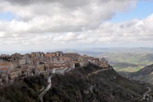 Enna, vista dal castello!