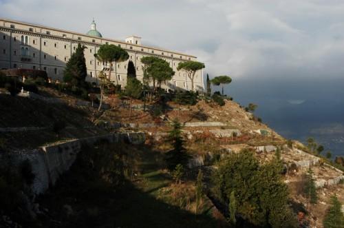 Cassino - panorama dall'abbazia