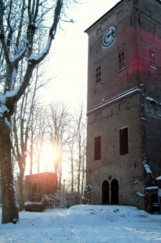 San Secondo Parmense - Dopo la neve....Il Sole !