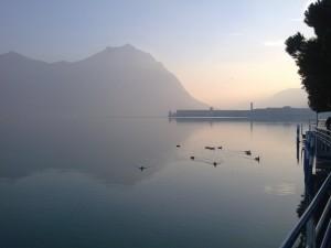 Paesaggi incantanti sul lago di Lovere 2