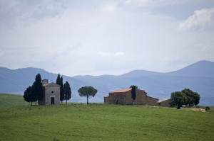 suggestiva val d'Orcia…