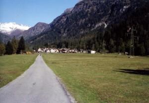 macugnaga panorama