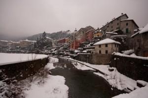 Voltaggio sotto la neve