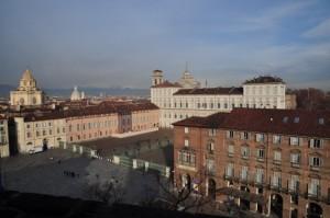 Panorama di torino visto dalla torre di Palazzo Madama