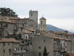 Orvinio e il suo castello