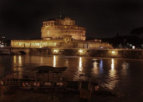 Roma - L'ondata di Piena