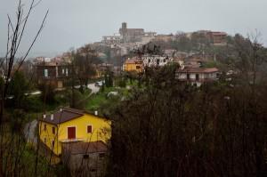 Sotto la pioggia - Sant'Antonio sul Garigliano
