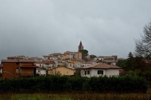 Sotto la pioggia - Sant'Apollinare