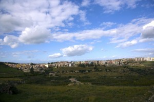 panoramica di Carlentini