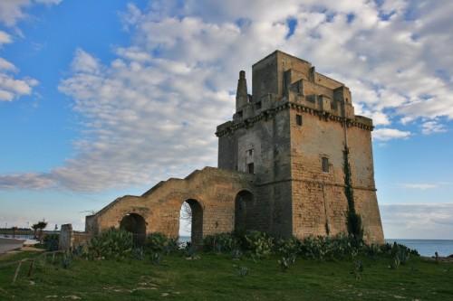 Manduria - imponente torre  colimena