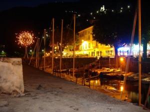 Porticciolo sul lago di Como
