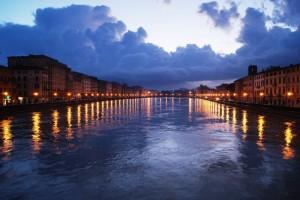 L'Arno di notte