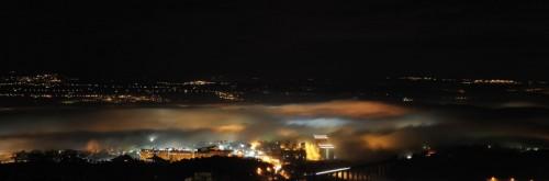 Chieti - Respiro del drago (Chieti scalo nella nebbia)