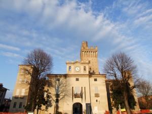 Rocca di Caorso - facciata