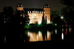 Castello del Valentino By Nyght
